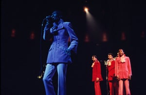 Gallery Motown at 50 : The Temptations perform at Madison Square Garden in 1969