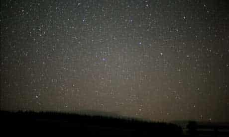 Night sky: Galloway Forest Park