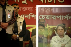 Gallery 24 hours in pictures: Khaleda Zia addresses supporters in Dhaka, Bangladesh