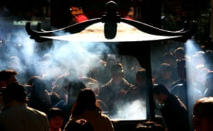 Gallery 24 hours in pictures: Worshippers at the Asakusa Sensoji temple