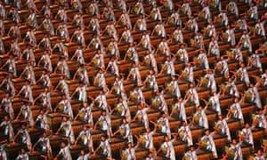Drummers perform during the Opening Ceremony for the 2008 Beijing Summer Olympics