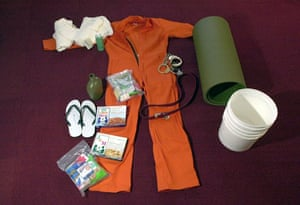 Gallery Guantanamo: Standard issue items at Camp X-Ray
