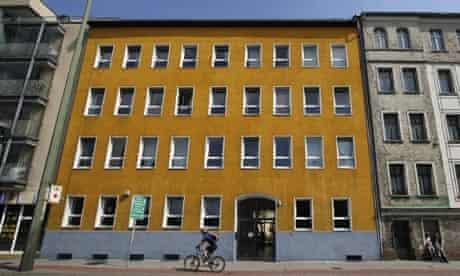 The Haus Schöneweide homeless shelter in Berlin