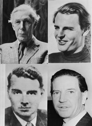 Gallery 1951: Four members of the 'Cambridge Five'