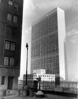 Gallery 1951: The United Nations Secretariat building in New York