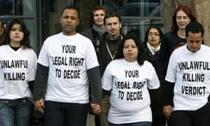Cousins and a friend of  Jean Charles de Menezes leave the inquest