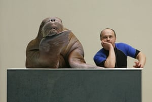 Gallery 24 hours in pictures: Sara the walrus and trainer Sergiy