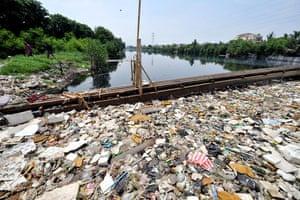Gallery River Citarum : The citarum river in JAkarta