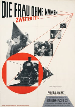 Gallery Tschichold: The Woman Without a Name, Part II, film poster by  Jan Tschichold