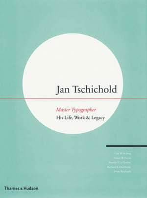 Gallery Tschichold: Cover of Jan Tschichold, Master Typographer