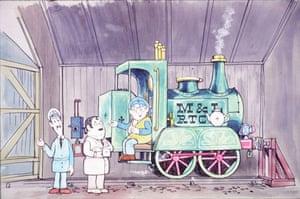 Gallery Oliver Postgate: Ivor the Engine drawing
