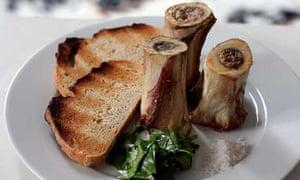Roast Veal Marrowbones