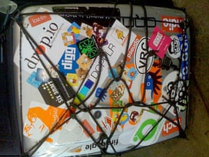 The Dopplr suitcase