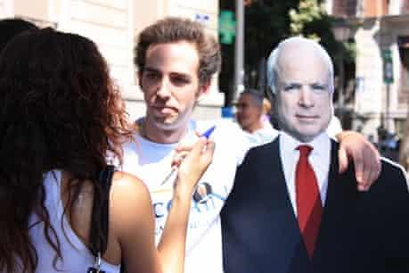 Spain for McCain