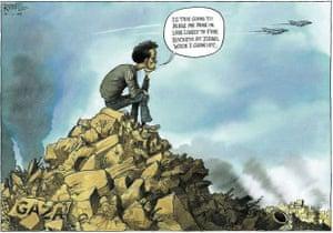 Chris Riddell cartoon, 04.01.09