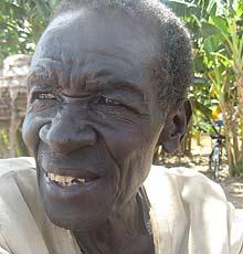 Katine farmer Eradu Nathan
