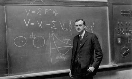 British physicist Paul Dirac