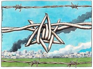 13.01.09: Steve Bell on the Gaza crisis