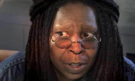 Whoopi Goldberg speaks during a scene from FEARnet's sci-fi mini-series Stream. Photograph: Reuters