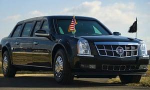 Barack Obama's limousine, the beast
