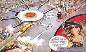 Dan Dare comic strip
