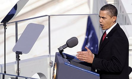 Barack Obama, inauguration speech