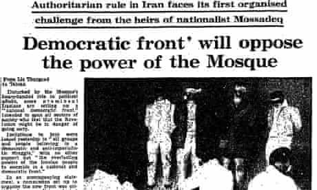 Iranian Revolution, 30 years: Democratic front