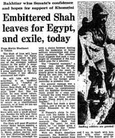 Iranian Revolution, 30 years: Embittered shah