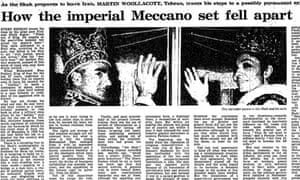 Iranian Revolution, 30 years: How the imperial meccano...