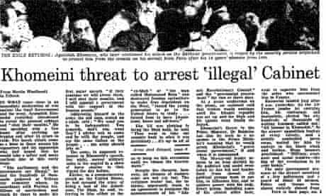 Iranian Revolution, 30 years: Khomeini threat...