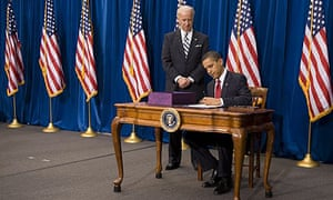 Barack Obama,  American Recovery and Reinvestment Act