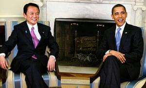 Barack Obama, Taro Aso