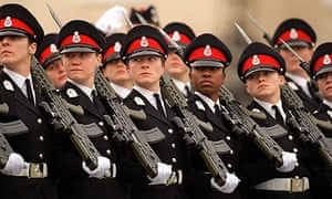 Female Officer Cadets At The Sovereigns Parade At Sandhurst.  (Photo by Tim Graham/Getty Images