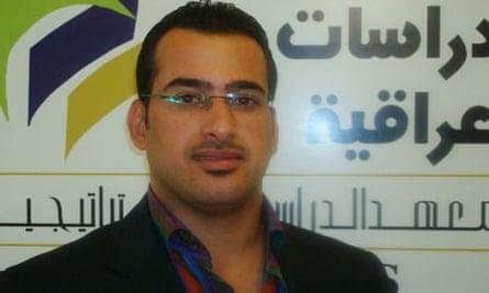 Shoe-thrower Muntazer al-Zaidi