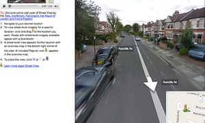 Google Launches Street View In Uk Technology The Guardian