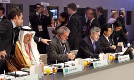 Gordon Brown G20 opening