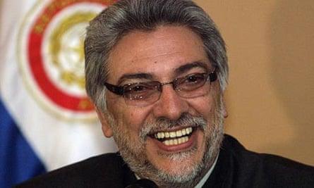Paraguay's president Fernando Lugo