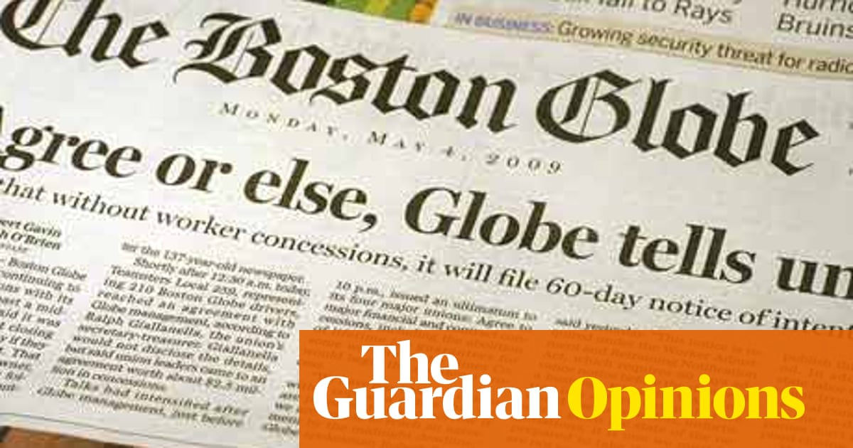 Cutting loose the Boston Globe may be a lifeline for the New