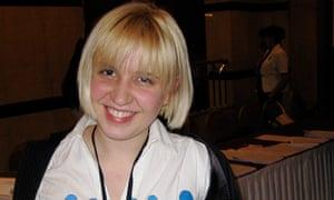 Kazakhstan blogger Yevgeniya Plakhina