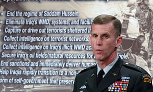 Lieutenant-General Stanley McChrystal is shown in this 2003 file photo