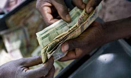 Money from a Katine village savings and loans group