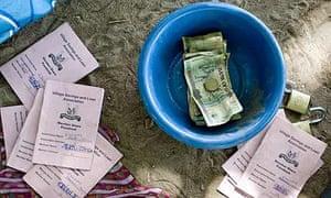 A Katine village savings and loans group
