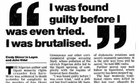I was brutalised 01/11/95