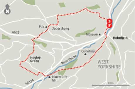 Holmfirth map