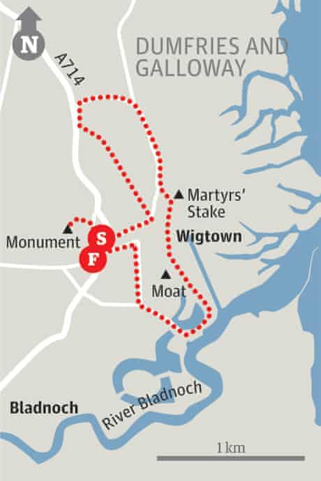 Wigtown map