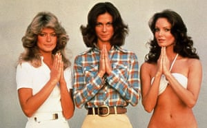 Farrah Fawcett, Kate Jackson and Jaclyn Smith starred in the 1970s American television show Charlie's Angels