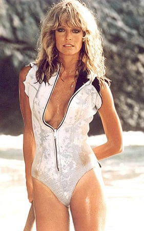 Farrah Fawcett in a scene from Sunburn in 1979. Fawcett, 62, died after a long battle with anal cancer.