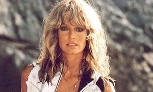 Farrah Fawcett in a scene from Sunburn in 1979.