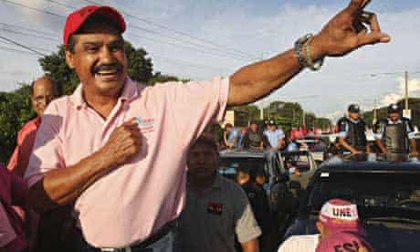 Managua, Nicaragua mayor Alexis Arguello as a candidate in November 2008