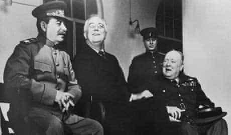 Photograph: Roosevelt and Stalin, 1943